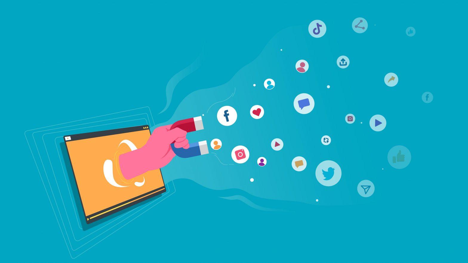 Capturing Attention on Social Media Using Motion Graphics